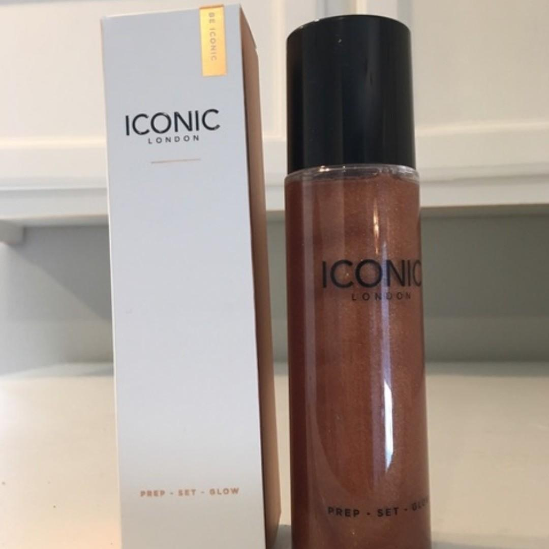 Iconic London Prep Set Glow or Original Face Spray Makeup 120ml, Brand New 100% Genuine [$45 EACH Price is Firm, No Swaps]