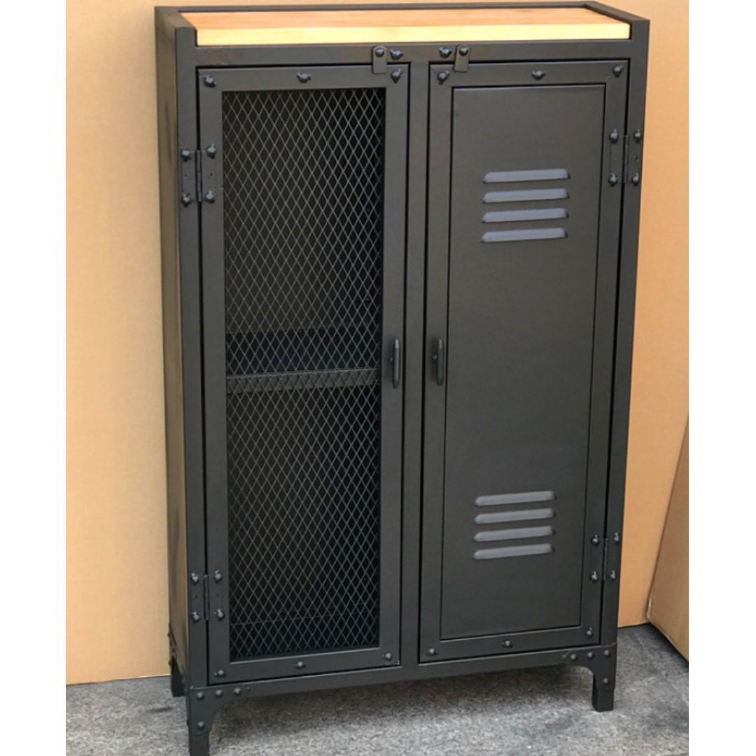 Industrial Iron Steel Cabinet