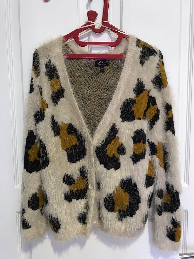 Jaket/sweter top shop