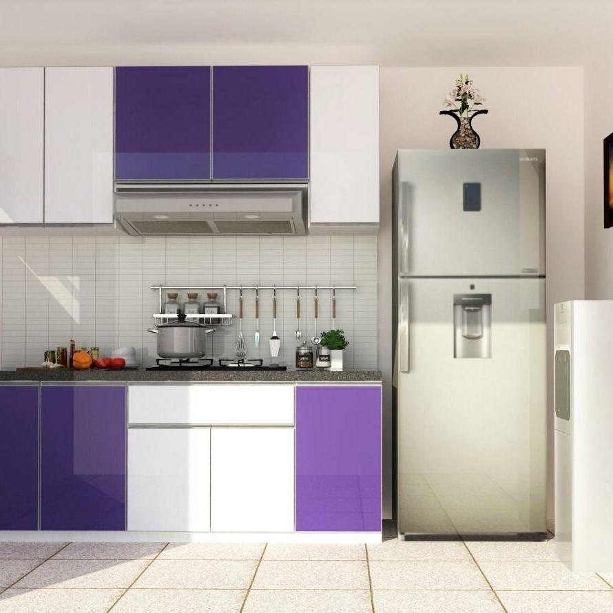 Kitchen Set Minimalis Moderen Aluminium Home Furniture On Carousell