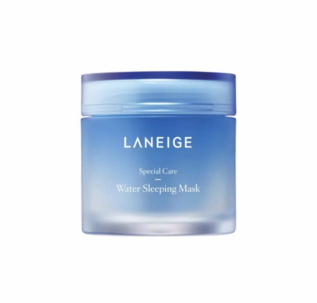 New W/sealed Box~laneige Sleeping Care Good Night Kit~travel Water Face&lip Mask Easy To Use Skin Care
