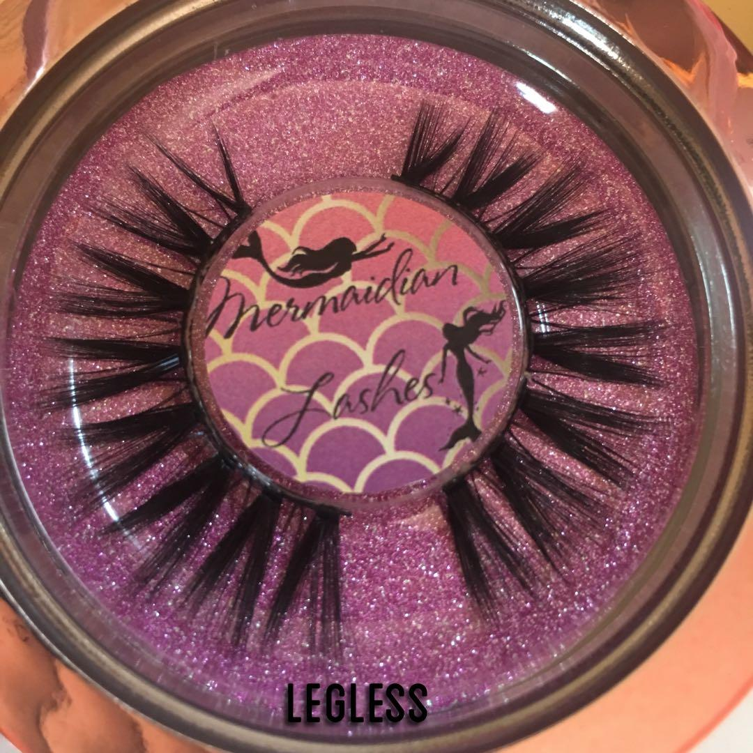 LEGLESS Mermaidian Lashes Handmade 100% Mink Eyelashes