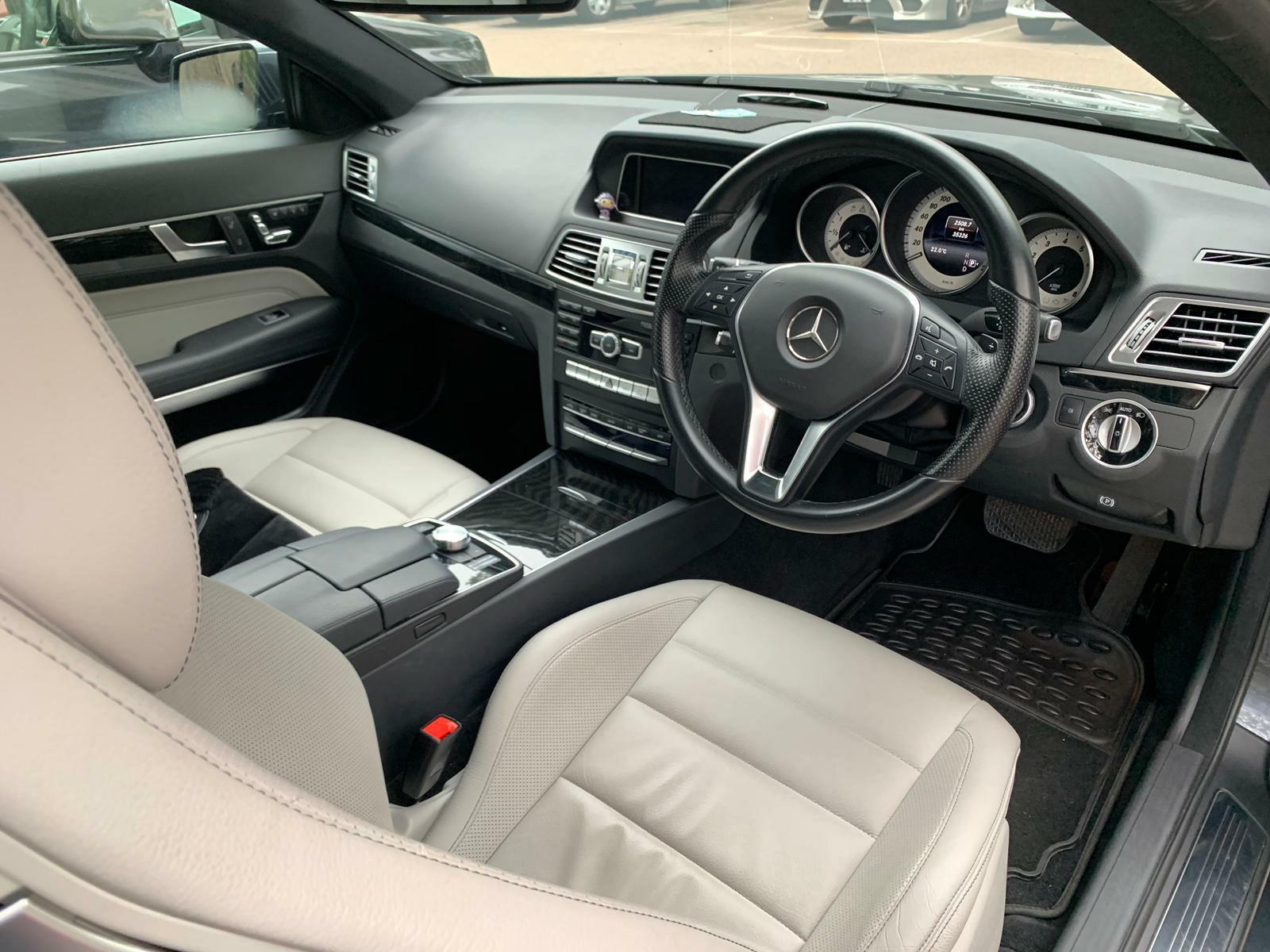 MERCEDES-BENZ E250 COUPE 2013