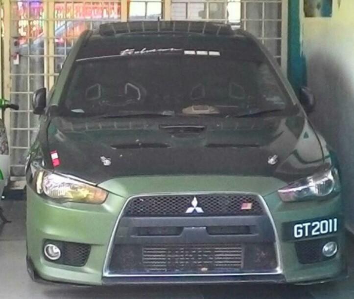 Mitsubishi Lancer Gt 2011