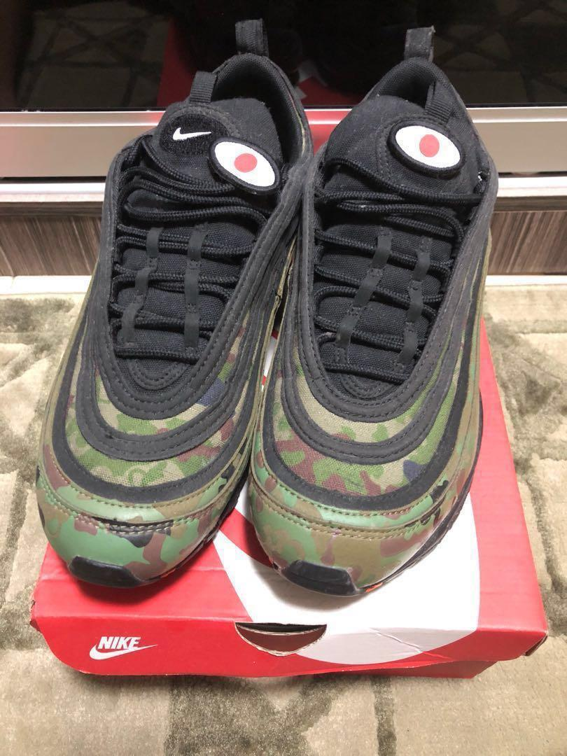 buy online c5da7 059fe Nike Air Max 97 country camo , Men's Fashion, Footwear ...