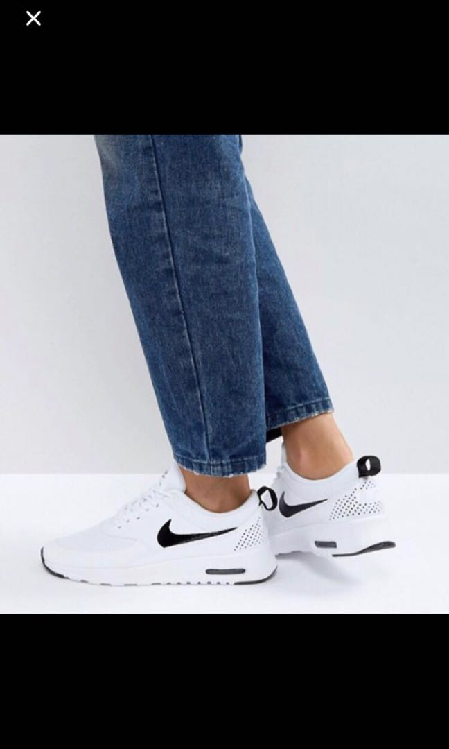 more photos 6d7ec e7cfb Nike air max thea, Women s Fashion, Shoes, Sneakers on Carousell