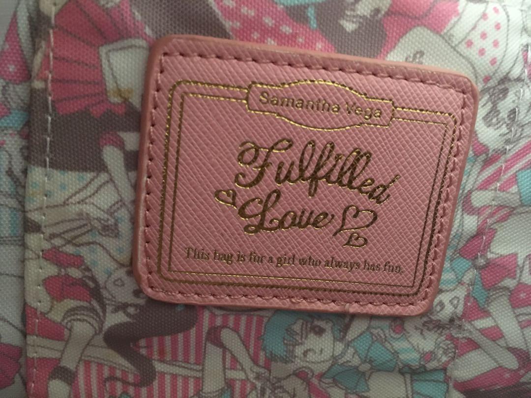 Pink sailor moon hand bag