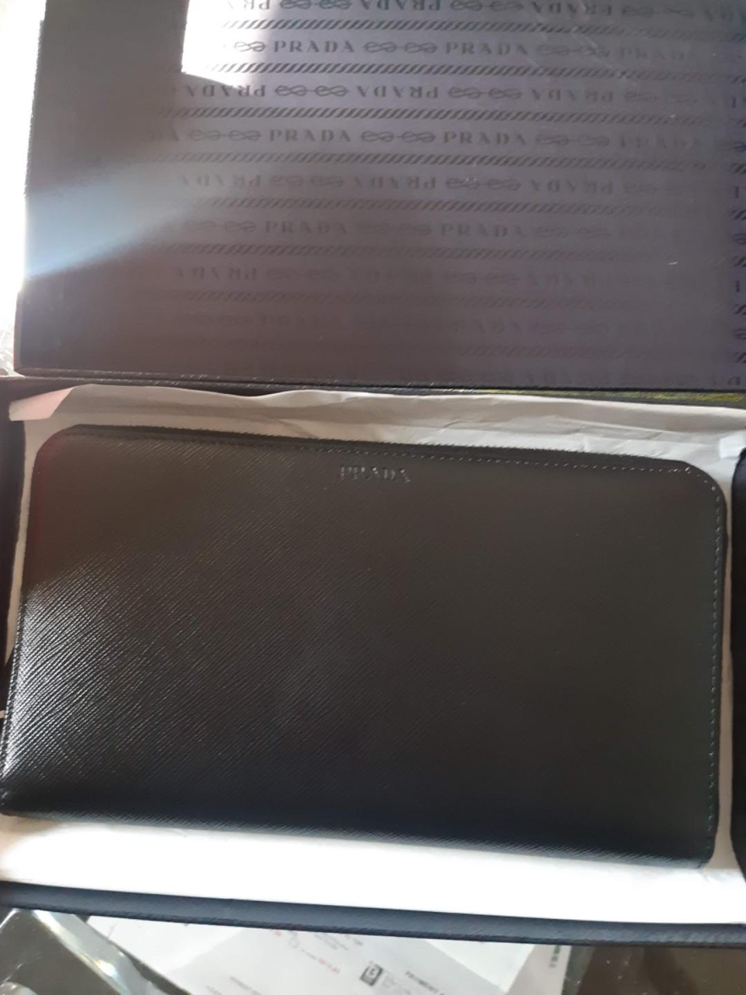 Prada document wallet