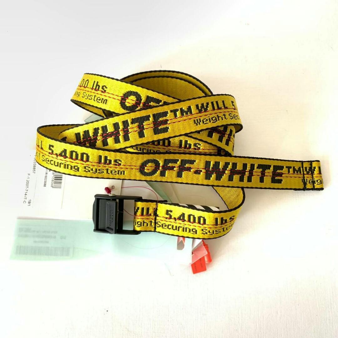 Ready offwhite industrial belt wide 4cm idr 3.950jt // Offwhite belt mini wide 2.5cm idr 3.5