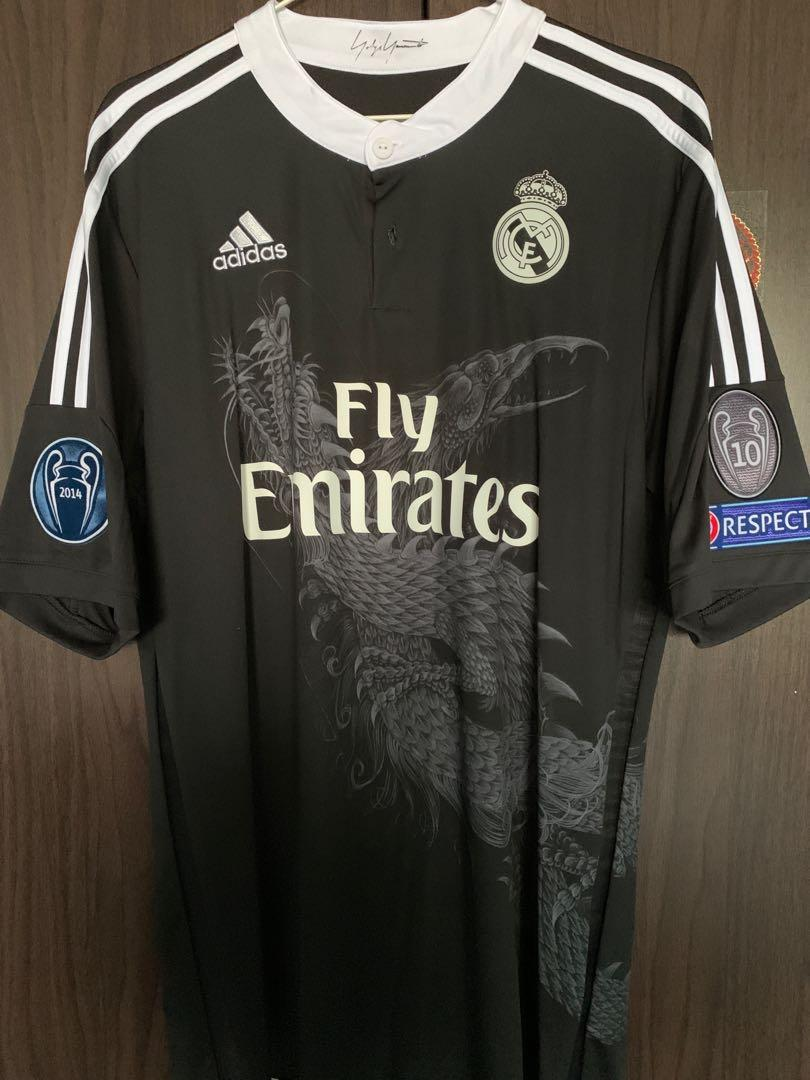 the best attitude d304b b50a7 Real Madrid Yamamoto Jersey, Sports, Sports Apparel on Carousell