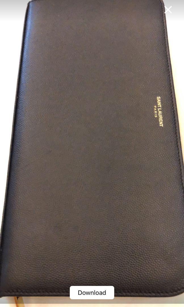 Saint laurent ysl travel wallet large