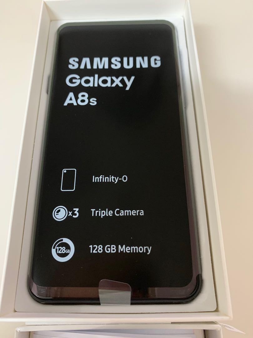 Samsung Galaxy A8s 灰色 128GB 99.99% new!