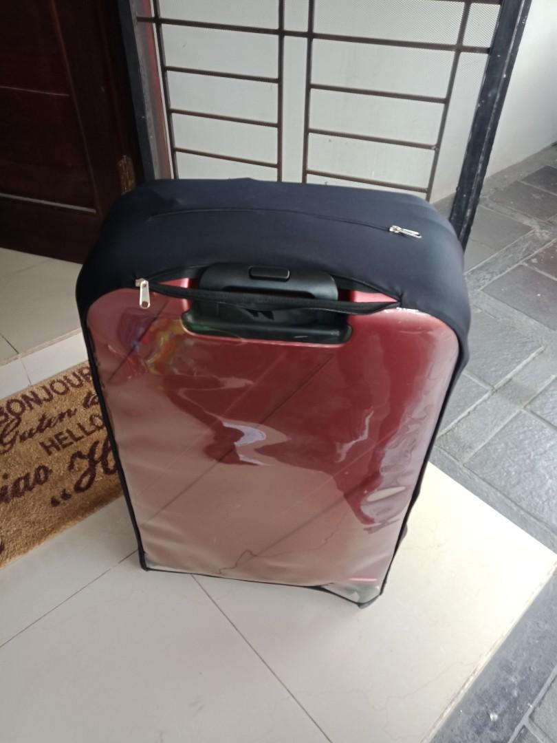 Sarung/cover koper (bagasi L)