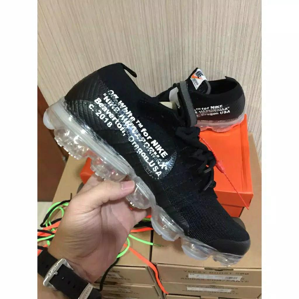 487359ee8e0fe Sepatu Nike Vapormax X OFF White ori
