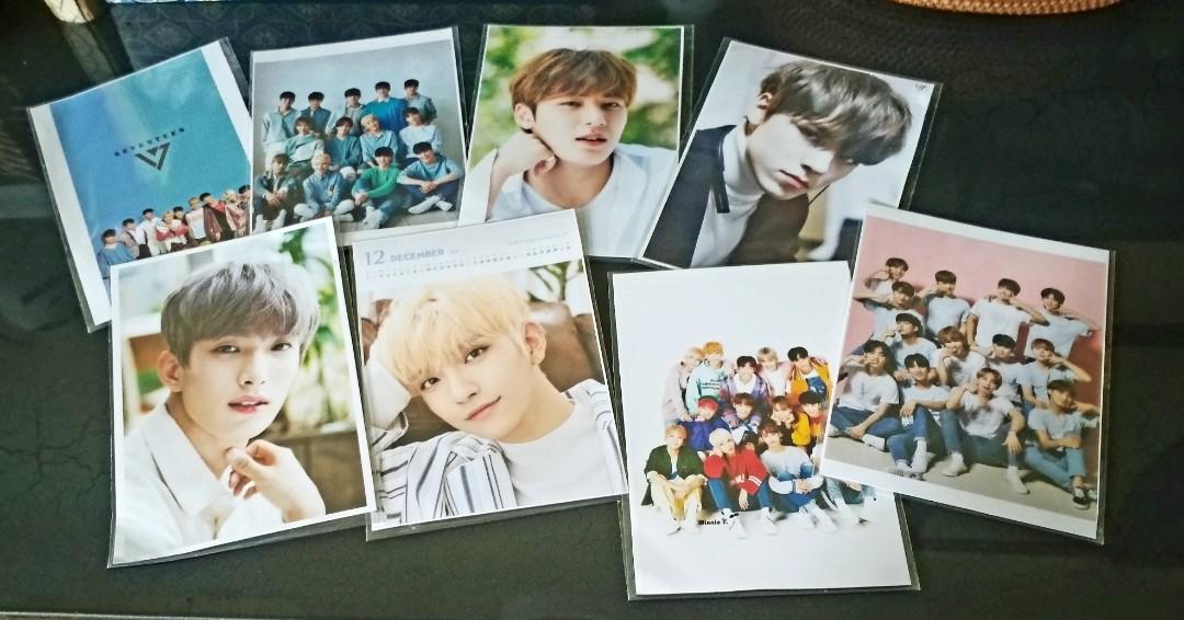 Set Photocard Kpop 8 Pcs Seventeen - Mingyu Vernon Joshua SVT