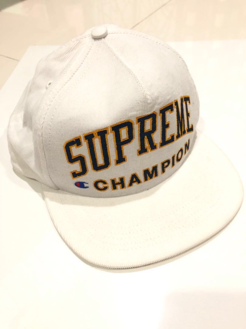 5063db5f9 Supreme x Champion cap