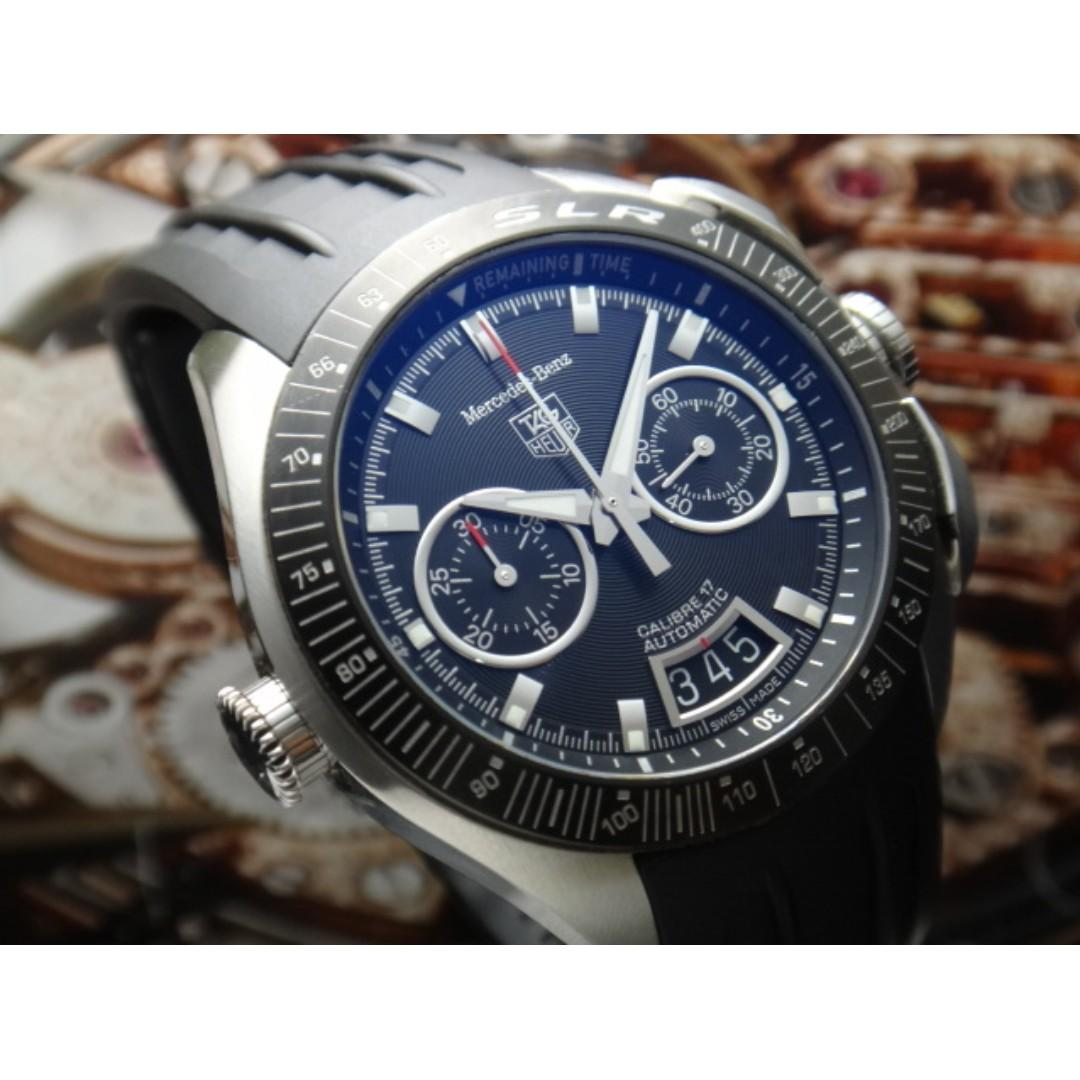 Tag Heuer Slr Mercedes Benz Chronograph Automatic Men Watch
