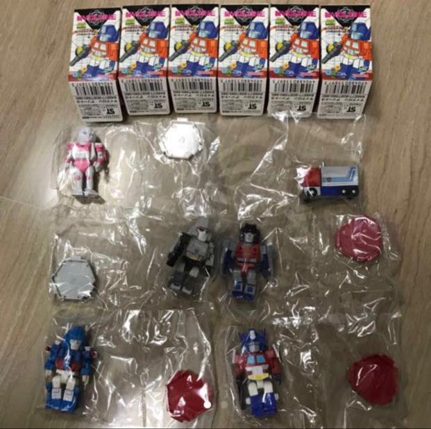 Taraka Transformers TF MyClone S1 Set Of 6 Megatron Starscream Ultramagnus  Arcee Convoy Trailer Mode