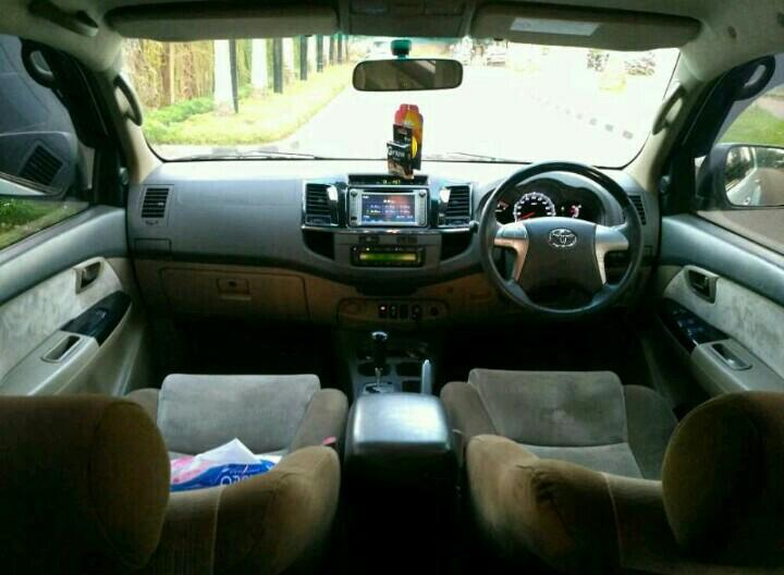 Toyota Fortuner 2.5G VNT turbo 2013AT..Putih Metalik Best Condition