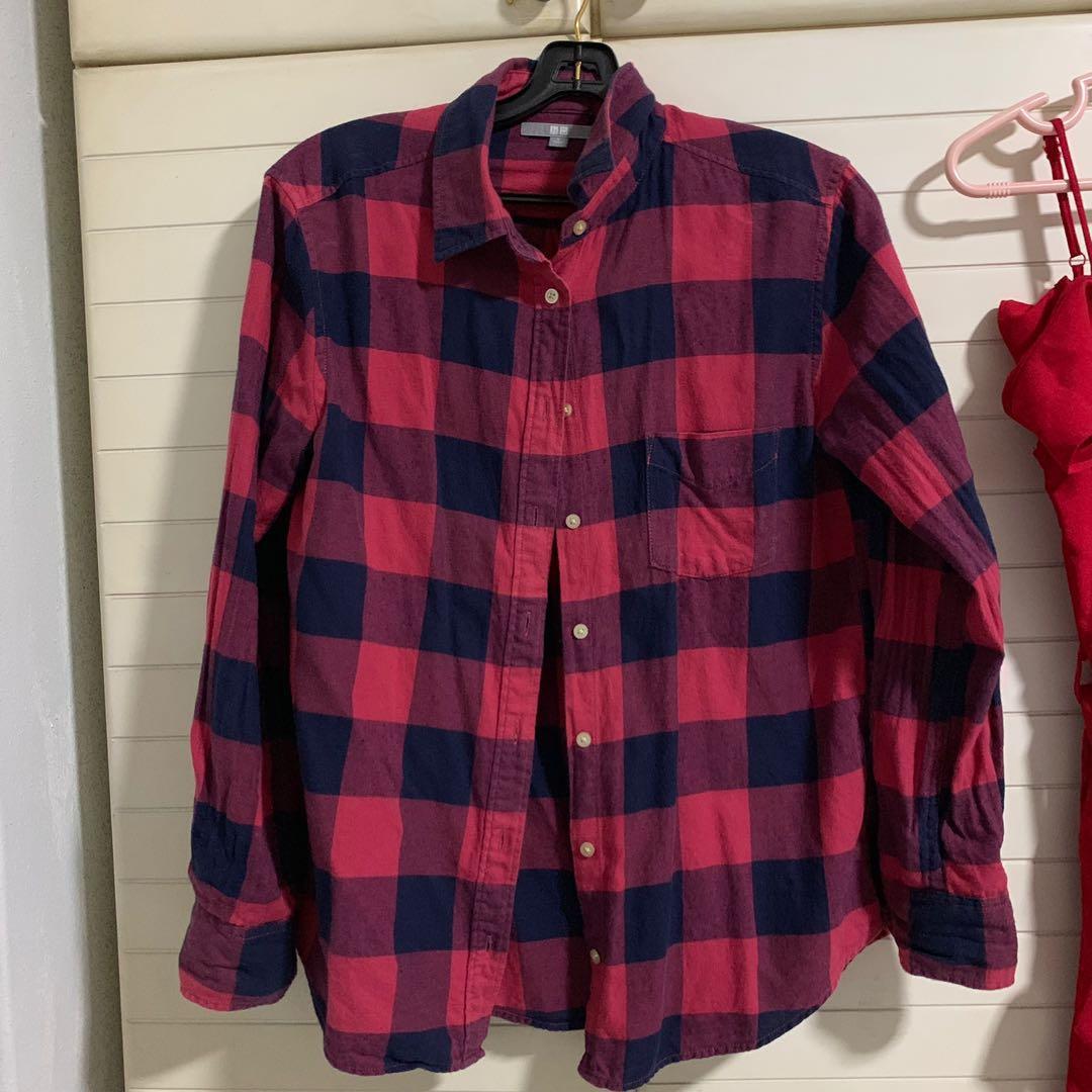 Uniqlo Red Flannel