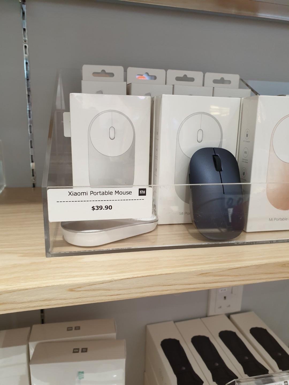White Mi Mouse (Dual Bluetooth / RF)  Sealed box