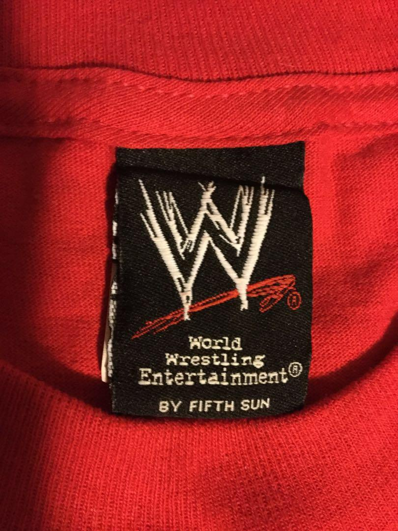 WWF License Batista crew neck shirt. Size large. Seems more like an X-Large