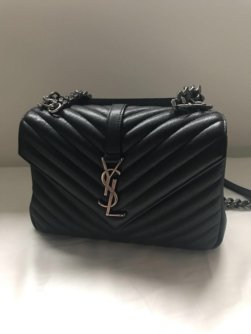 4ce9254fd206 YSL Saint Laurent college bag medium