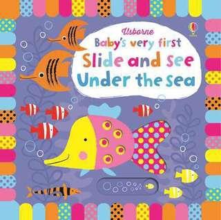 [BN] Usborne: Slide and see under the sea