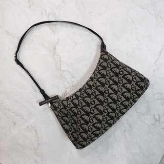 Dior vintage monogram shoulder bag