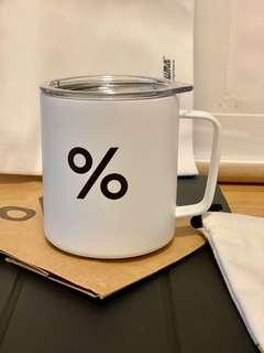 全新Arabica % coffee cup 咖啡杯