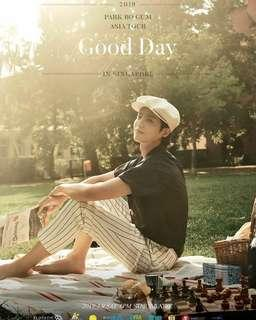 (wts) pair of park bo gum good day fanmeeting tickets