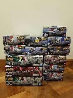 <Sales!> New Arrival RG Gundam