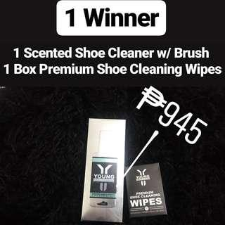 FREE GIVEAWAY!! Young Americana Supply Sneaker Cleaners Giveaway