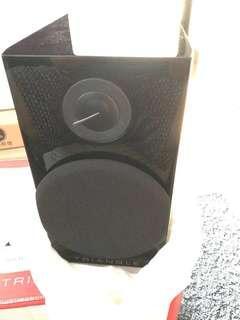 Triangle Color bookshelf Speaker (piano black)