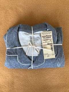 NEW MUJI Men Cotton Pajamas PJ 男裝睡衣 Size L, Gray