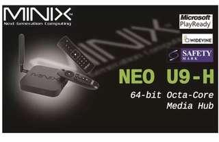 Minix U9H A3 airmouse Brand New