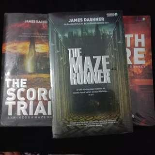 [BAHASA] The Maze Runner, The Scorch Trials, The Death Cure by James Dashner