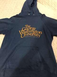 Champiom hoodie x george washington university