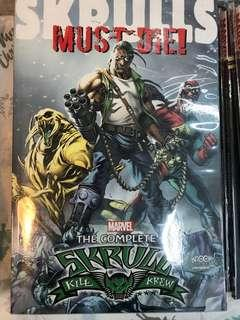 🚚 SKRULLS MUST DIE TP COMPLETE SKRULL KILL KREW ! BRAND NEW! 352 PAGES