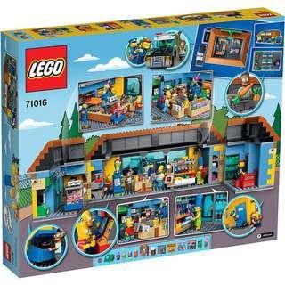 LEGO 71016 SIMPSONS 屋已停產