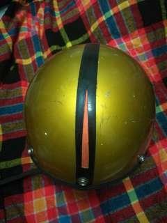 RARE 50s 60s stadium project 4 helmet made in england