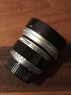 Canon 50 1.2 ltm for Leica / mirrorless