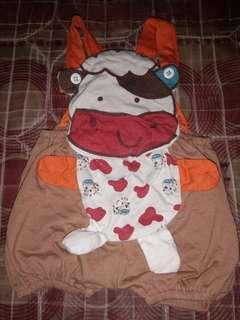 Baju Kodok Bayi