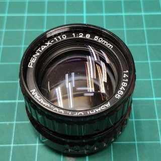 Pentax-110 50mm F2.8鏡頭