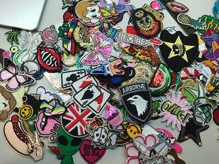 100 pcs Iron On Patches