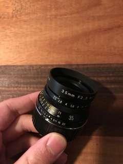Voigtlander 35mm f2.5 ltm for Leica / mirrorless
