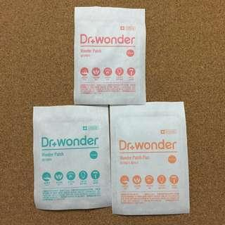 🚚 Dr Wonder Pimple Patch ( 3 sizes available )
