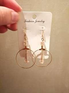 (FREE DELIVERY) Hook type earring