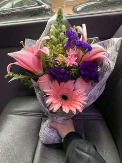白色情人節禮物 花 鮮花 314 Fresh Flower Bouquets Valentines Present Gift