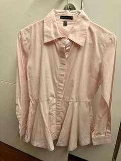 Kemeja soft pink